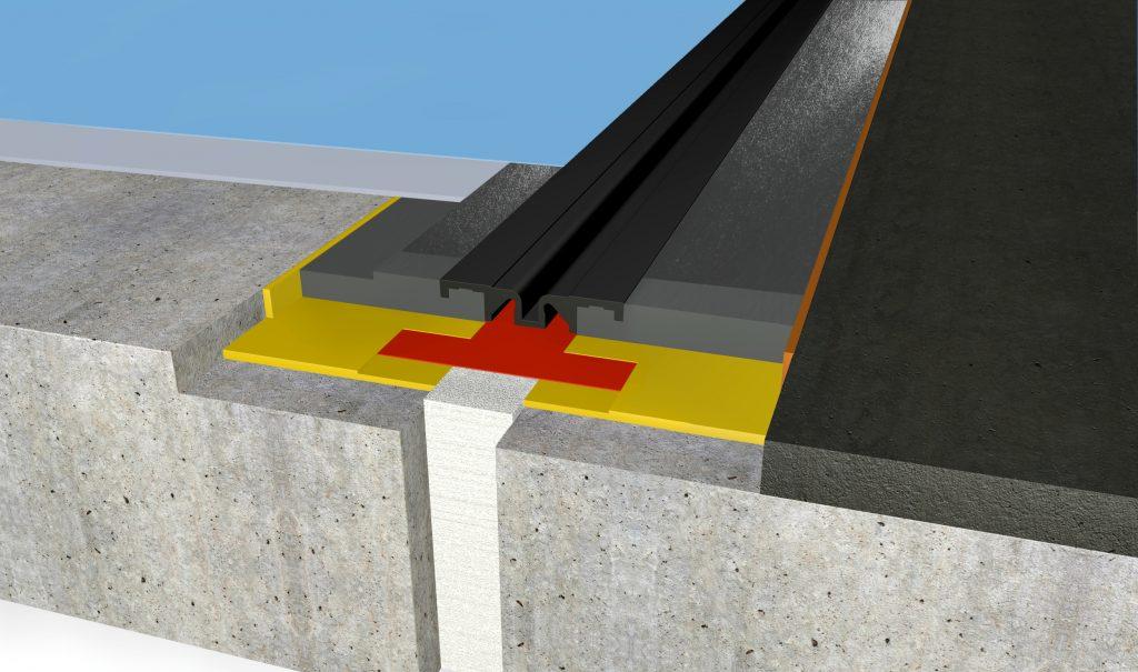 FloorBridge® joint profile CPS DUO 20/50 Asphalt