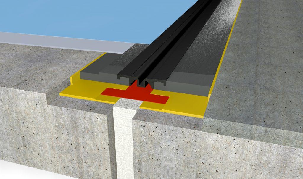 FloorBridge® joint profile CPS DUO 20/50 Beton