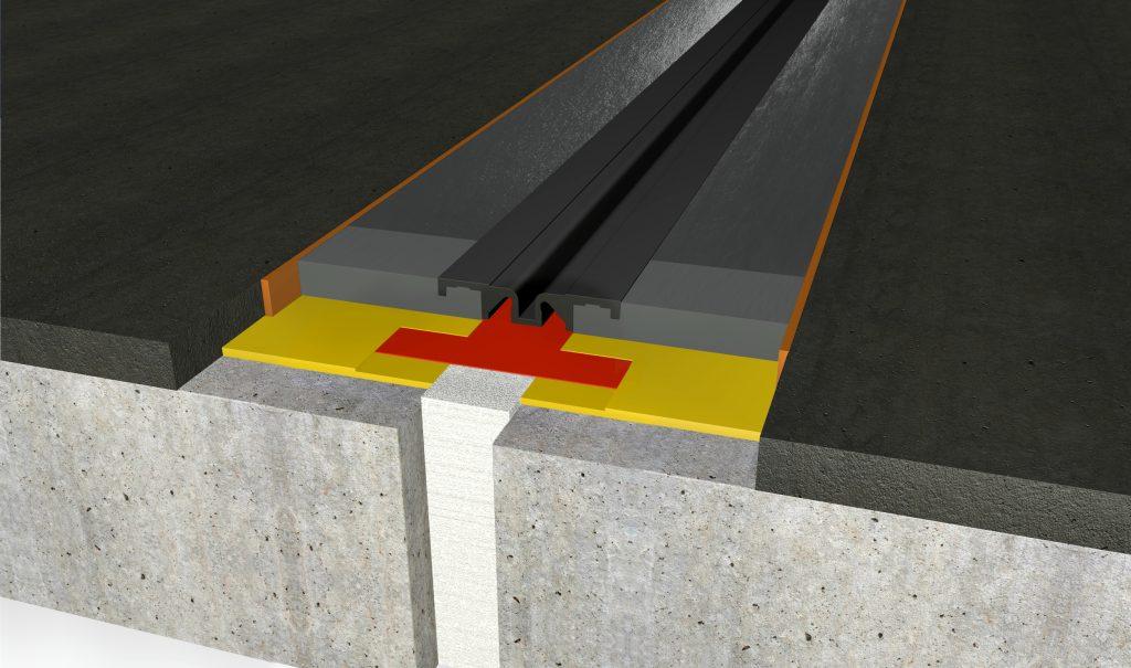 FloorBridge® joint profile CPS MONO 20/50 Asphalt