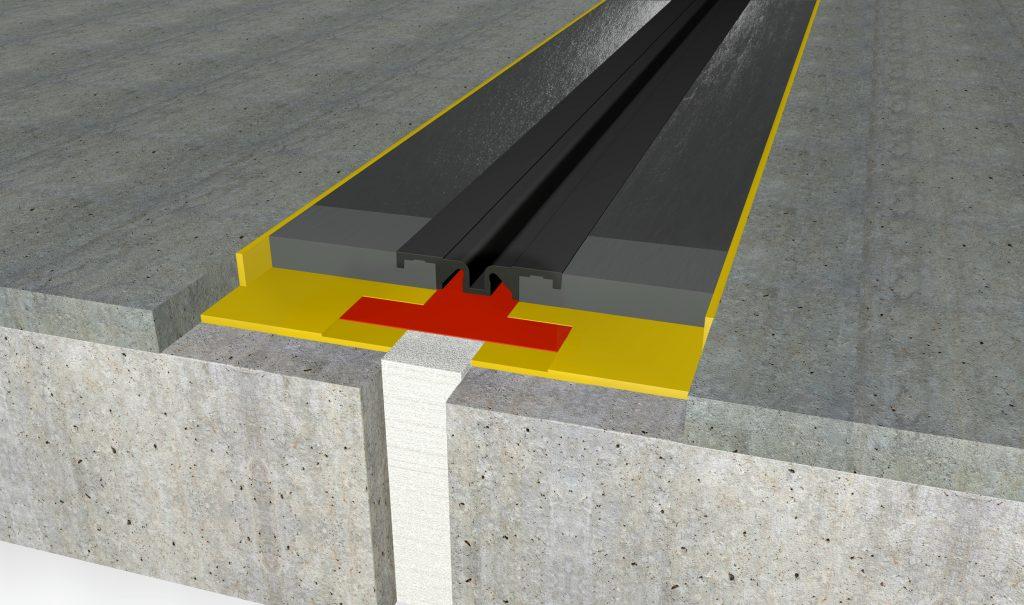FloorBridge® joint profile CPS MONO 20/50 Beton