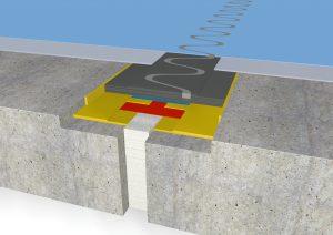 FloorBridge® joint profile CP 20/80 coated