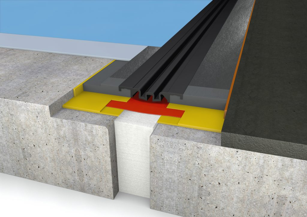 FloorBridge® joint profile CPS DUO 20/80 Asphalt
