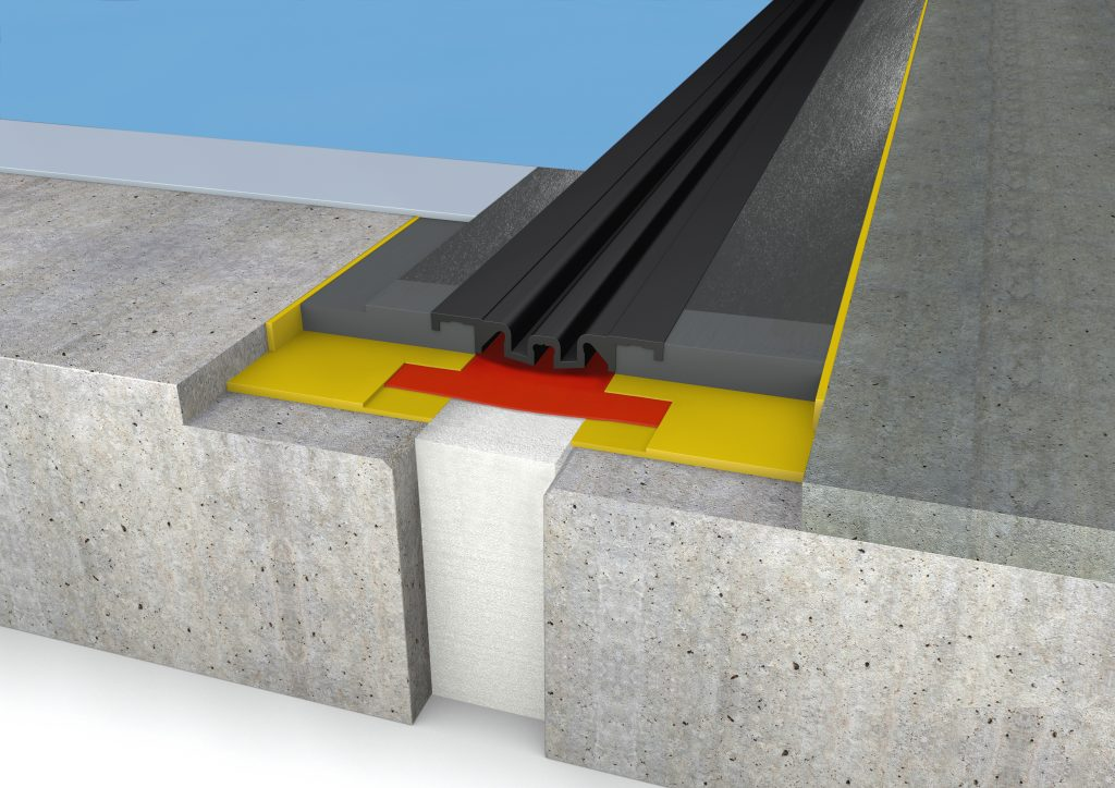 FloorBridge® joint profile CPS DUO 20/80 Beton