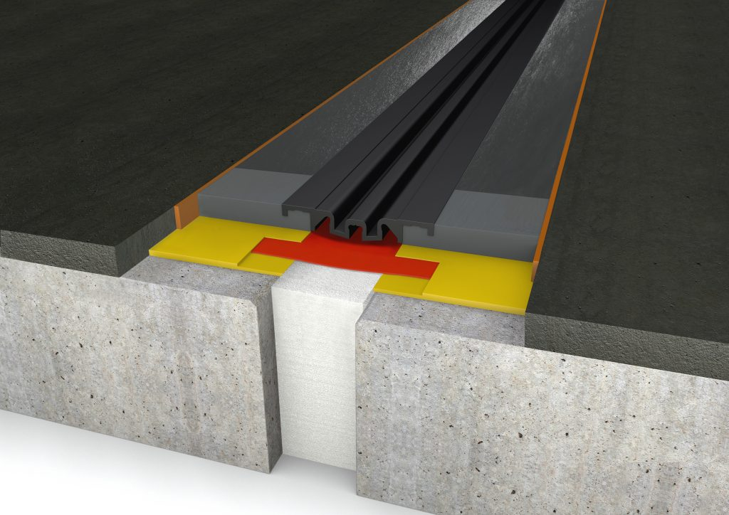 FloorBridge® joint profile CPS MONO 20/80 Asphalt