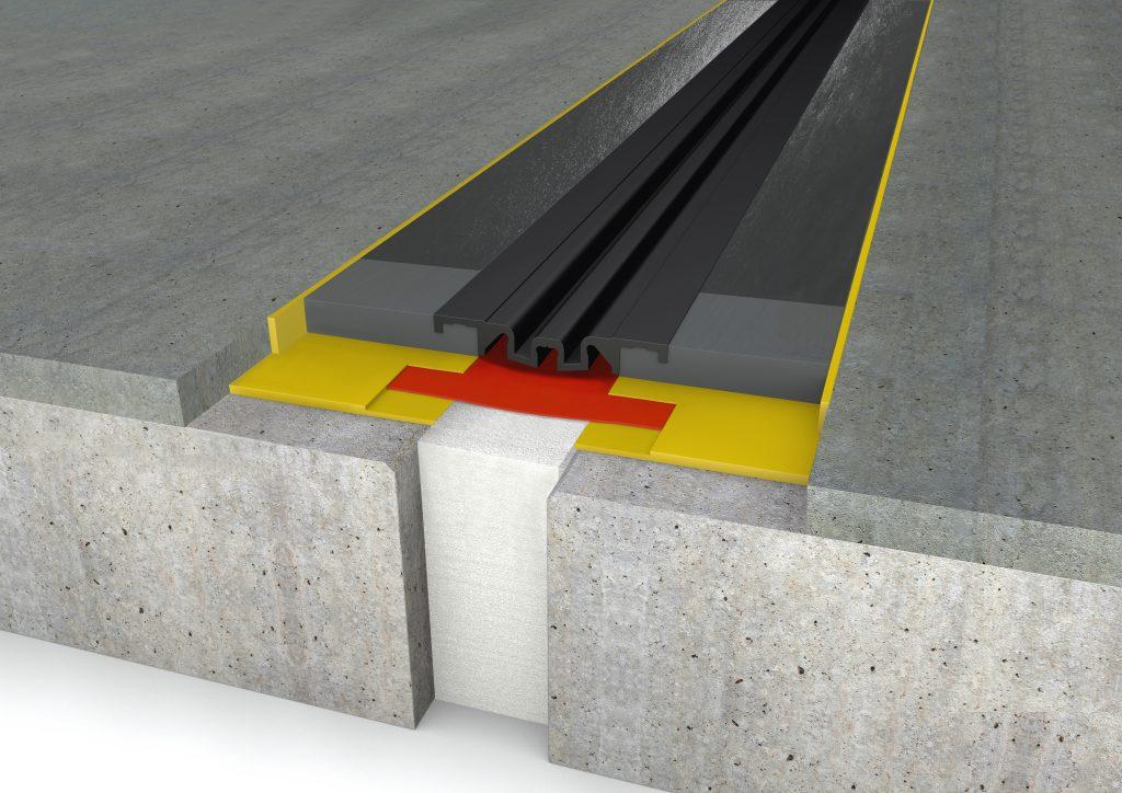 FloorBridge® joint profile CPS MONO 20/80 Beton