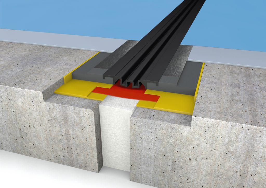 FloorBridge® joint profile CPS 20/80